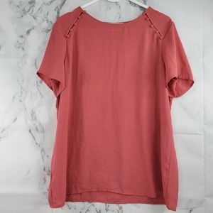 LOFT Crew Neck Blouse